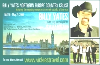 Billy Yates European Tour 2009