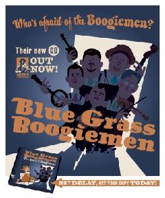 The Bluegrass Boogiemen - Sittin' and Thinkin'