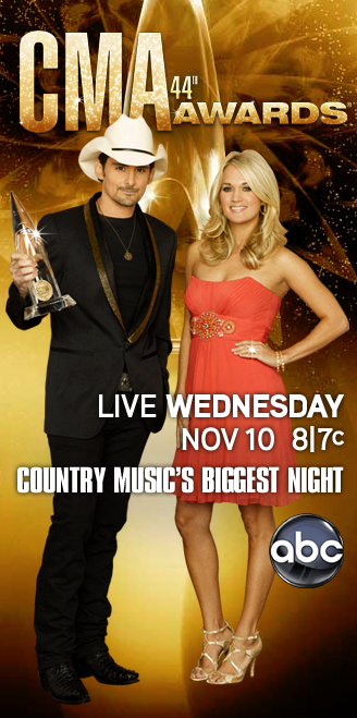 Country Music's Biggest Night with Brad Paisley and Carrie Underwood
