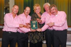 Wim Pols en Calyx met 2007 Award voor de