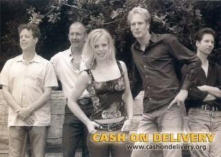l.t.r. Loek van Heijster, Ad Welten, Jacqueline v.d. Griend, Wim v.d. Vliert en Johan Jansen