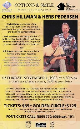 Chris Hillman and Herb Pedersen - Be there next time!