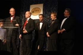 Dailey and Vincent at the IBMA Award Festival 2008