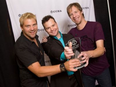 Doc Walker - Canadian Country Music Award Winners 2008 (photo Grant W. Martin)