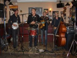 Ed and The Fretmen in Cafe Daniels te Wageningen