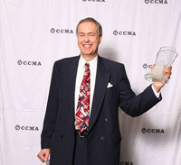 Brian Ferriman -Inducted in the CCMA Hall of Fame (photo Grant W. Martin)