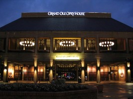 Grand Ole Opry House in Opry land
