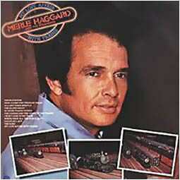 Merle Haggard - LP My love affairs with trains