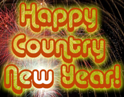 A Happy New Year with Lots of Fine Countrymusic