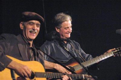 l. Jim Kweskin en r. Geoff Muldaur©Courtesy Photo