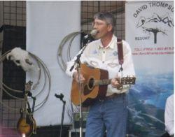 Larry Vannatta on stage
