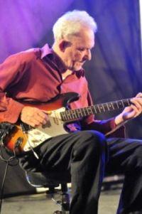 Leo van Reeven op steel-gitaar
