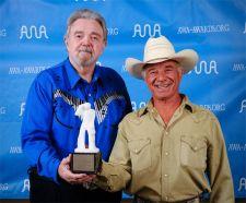 AWA Award 2008 - Earl Poole Ball (l.) and Lucky Tomblin (r.)