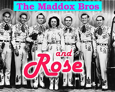 The Maddox Brothers and Rose