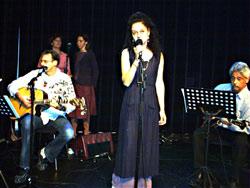 Maureen McGillavry on stage