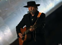 Neil Young at the BC Place in Vancouver