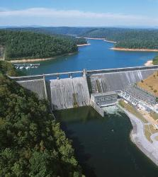 Norris Dam and Norris Reservoir at the Clinch River