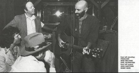 Shel Silverstein (far right) and Bobby Bare