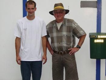 Stefan Boudestein (l.) en Jan Evenhuis (r.)