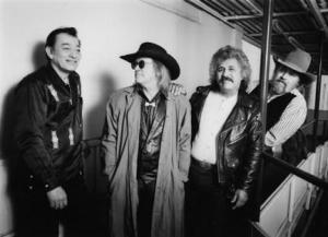 L.t.R. Flaco Jimenez, Doug Sahm, Freddy Fender en Augie Meyers