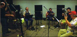 The John Hartford Stringband in the Studio