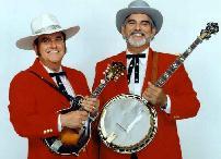 Bobby on mandoline and Sonny on the banjo