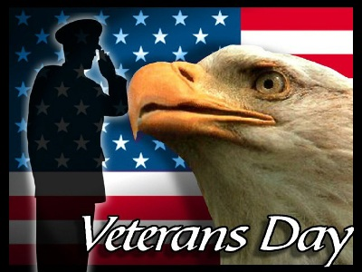 November 11 - Veterans Day