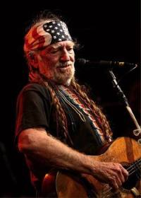 Willie Nelson in het Theater Melkweg