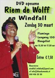 Riem de Wolff en Windfall in Hoogvliet