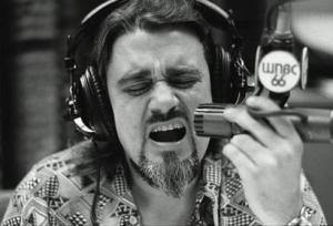 Wolfman Jack at the WNBC studio in New York
