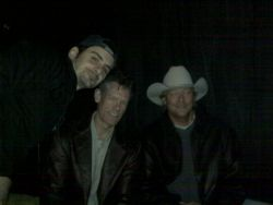 Randy Travis, Brad Paisley and Alan Jackson at the rehearsal
