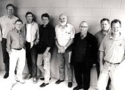 The Chieftains and Joe Ely (3rd from left)