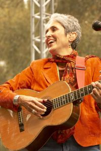 Joan Baez - performing at the Hardly Bluegrass Festival 2005
