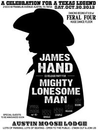 James Hand - Mighty Lonesome Man