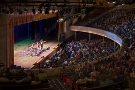 The Ryman Auditorium (formerly Grand Ole Opry House and Union Gospel Tabernacle)