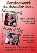 Change of Key - Kerstconcert 2012