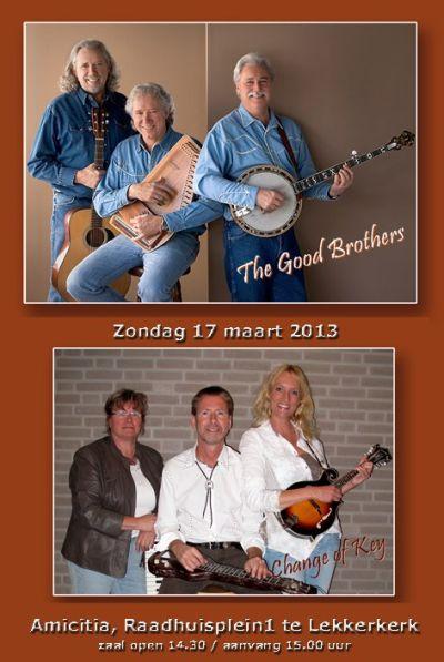 The Good Brothers & Change of Key in Amicitia Lekkerkerk