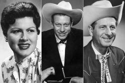 Patsy Cline, Hawkshaw Hawkins & Cowboy Copas