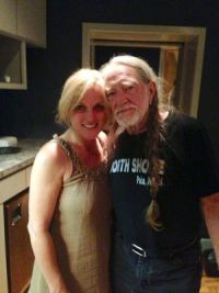 Rhonda Vincent & Willie Nelson - Only Me