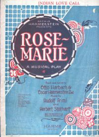 Rose Marie - A Musical Play