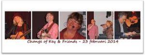 Change of Key at Concordia Haastrecht Feb. 23 2014