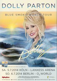 Dolly Parton met optreden in Keulen en Berlijn.