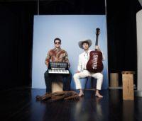 Sam Reider on accordeon & Justin Poindexter on Guitar