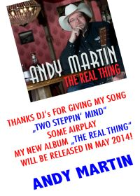 Andy Martin - Two Stepping Mind