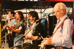 Chesapeake - l. to r. :Jimmy Gaudreau, Moondie Klein, T. Michael Coleman en Mike Auldridge