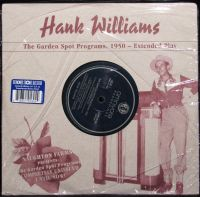 Hank Williams - Garden Spot Album
