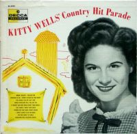 Kitty Wells - Hit Parade LP Decca 1956