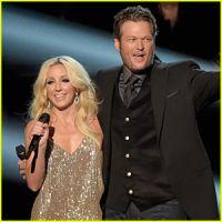 Blake Shelton & Ashley Monroe - Lonely Tonight at the CMA Awards Festival