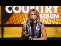 Miranda Lambert - Best Country Album Grammy Award