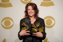 Rosanne Cash - Three Grammy's 2015